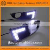 High Power LED DRL Fog Light for Dodge Excellent Quality LED Daylight for Dodge Journey 2009-12'