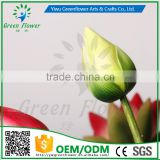 Greenflower 2016 Wholesale Real Touch Latex PU latus bud China handscrafts Artificial Flowers Rose for wedding decoration
