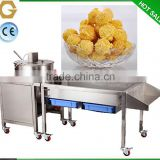 fully automatic plant using spherical popcorn machines snack food processing equipment made in China