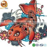 hot sale temporary fish tattoo design kids tattoo body tattoo sticker temporary tattoo paper