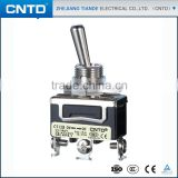 CNTD High Demand Products In China Spring Return Loaded Toggle Switch 15A 250V