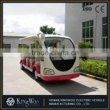 China Made 15 Passenger Battery Powered Electric Mini Bus
