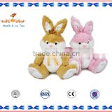 EN-71 Standard dongguan pink plush toy battery-operated rabbit