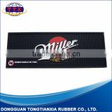 Durable soft pvc drink mat with factory price with personalized artwork