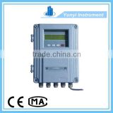 Clamp on ultrasonic water digital flow meter