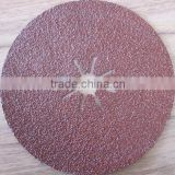 7inch abrasive fiber sanding disc polishing for metal, wood, stone, marble