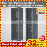 2014 custom new floor standing aluminium outdoor 24u network cabinet with different size for your choice