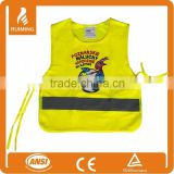 heat transfer print on safety vest children