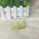 1.2 simple plastic tooth color tape dispenser custom make guest small tape dispenser