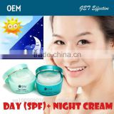 OEM face cream, DAY cream with Sheep placenta extract, collagen, vitamins C, E and Hyaluronic Acid