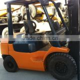Used forklift Toyota 2.5T for sale in china,japan made,cheap and good condition forklift in shanghai