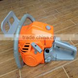 52cc orange and gray color gasoline chain saw 5200,oil chain saw