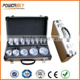 16PCS Cast Iron Cutting Bi-Metal Hole Saw Kit