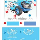 electric start farm tractors / Forced-air cooling diesel engine /use in hill, small land