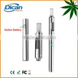 No leak dican vaporizer cartridge disposable cbd glass atomizer 510 chrome vape pen battery electronic smoke