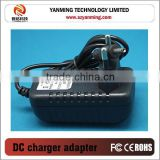 Low power ac dc adapter 6v 600ma universal battery charger for led,cctv camera,game player,etc