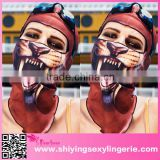 2015 wholesale Halloween Leopard Cool Motorcycle Face Mask open hot sexi images for girls