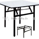 hot selling good quality study pvc metal leg table