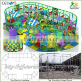 Free design CE & GS standard eco-friendly LLDPE kids indoor used playground equipment for sale