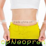 Waist trimmer belt neoprene back support waist/Breathable adjustable neoprene waist belt/Custom waist support belt