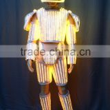 LED dance Robot costumes suit