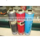 High quality Leakproof Empty Aerosol Tin Can used for air freshener with 4 color printing