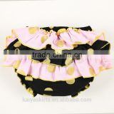 Eco-friendly infant black dressy baby clothing wholesale boutique underwear manufacturers