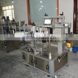 Automatic machine health green tea bottle labeling machine for top neck, front, back label