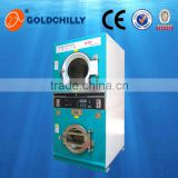 Hot sale 8kg, 10kg, 12kg Gas, LPG, electric, steam heating commercial coin operated laundry washing machines/ washer dryer price