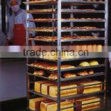 Stainless steel Bakery bread tray trolley