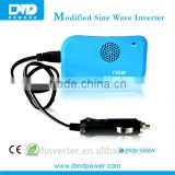 Dual power transformer car inverter 130w solar micro inverter With USB plug for car/truck/bus