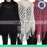 womens chunky cable knit sweater poncho, cotton knitted poncho, winter ponchos for women