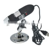 25 - 200X USB Digital Microscope 8 LED Lights Magnifier Camera COMS Sensor for Video Picture Capture