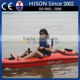 Hison fishing boat Jet Engine powered polyester fish kayak