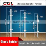 304 316 interior toughed glass clamp concrete baluster mold