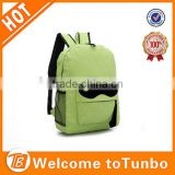 Hot selling unisex nylon bag wholesale high quality school backpack mustache fashion backpack