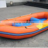 Free shipping commercial pvc inflatable river boat