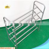 Household Four Tier Metal Shoe Shelf 12 Pairs Shoe Rack With Plastic Parts