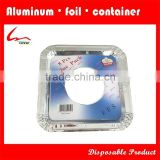 "8 3/4"" X 8 3/4"" X 1/2"" Household Aluminium Foil Square Gas Burner/Gas Stove Protector"