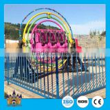Outdoor thrilling rides human gyroscope standing human spaceball gyroscope rides for sale
