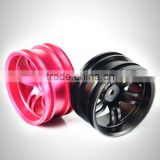 1/10 aluminum 9mm offset alloy wheels for cars