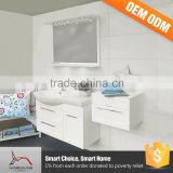 China Supplier Mirror Laundry Sink Cabinet PVC