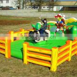 Inflatable Rodeo Bull Machine from China,Existing Mechanical Bull Rodeo 2016 adults inflatable games