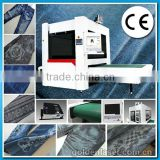 Jeans Denim Laser Printing/Engraving Machine with CE