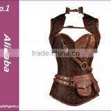 2016 The newest sexy steam punk corsets in stock