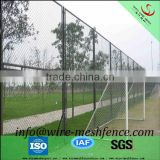 Factory supply 8 gauge chain link fence for roll /6 ft basketball court chain link fence