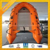 Inquiry about 550cm Long 12mm Aluminum Floor Inflatable Boat/13 Persons A Type Hull Inflatable Boat for Sale