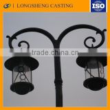 OEM ISO certificated Good Quality hot sale of Decorative Aluminum Street Lamp Pole