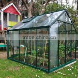 glass greenhouses new products widely used for garden flower and vegetables