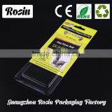 New product Best Choice clamshell blister electrical packaging sliding paper card blister packaging